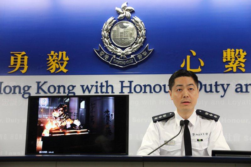 港警已逮捕涉嫌詐騙的一名嫌犯。(中新社資料照)