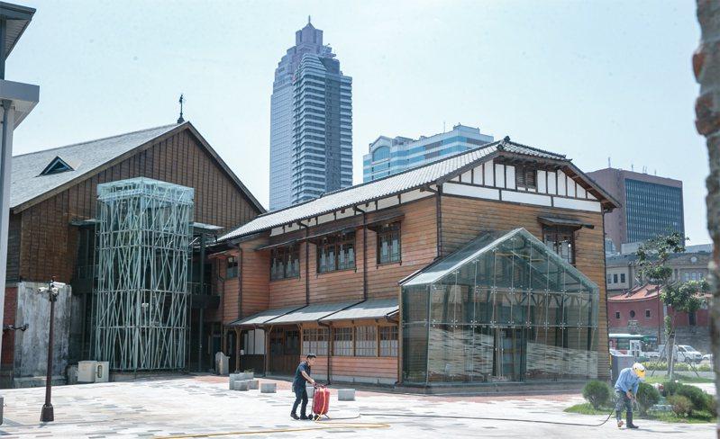 原為台灣總督府鐵道部的台博館北門館歷經多年整修近期開始試營運,並將於七月正式開幕,讓民眾可重回1920年代體會台灣現代化的歷程。聯合報系資料照/記者曾原信攝影
