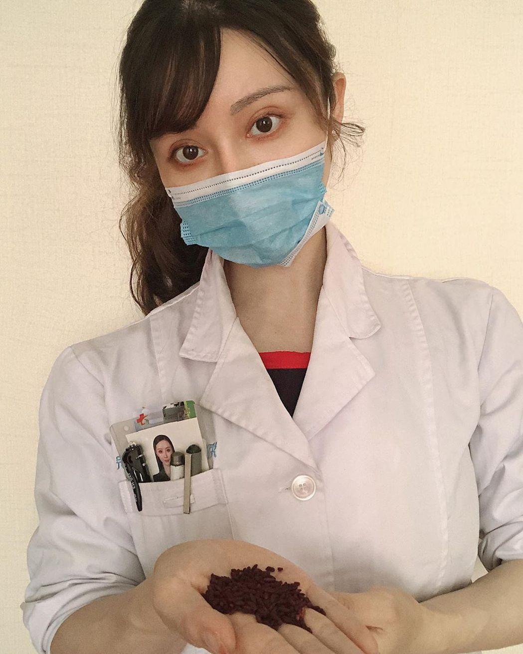 袁合榮是一位中醫師。 圖/擷自IG