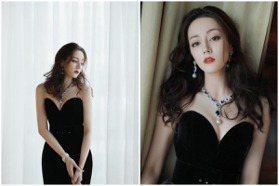 迪麗熱巴性感秀MIKIMOTO 雪膚美胸與珍珠搶鏡