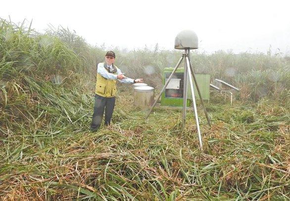 中研院地科所研究員林正洪團隊已證實大屯山是活火山,氣象局今年將推出火山噴發訊息警告。 圖/科技部提供