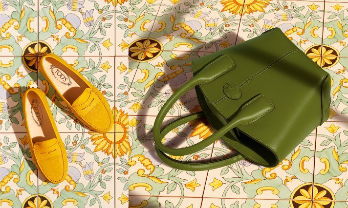 TOD'S推出全新的Capri Lifestyle膠囊系列。圖/迪生提供