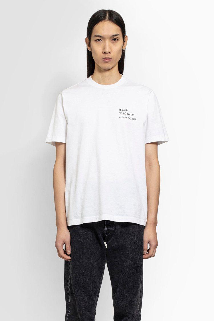 Vetements文字T恤,8,500元。圖/團團選品提供