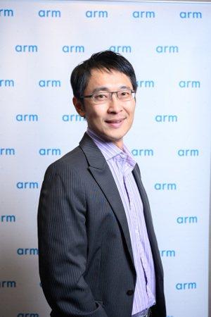 Arm台灣總裁曾志光 圖/Arm提供