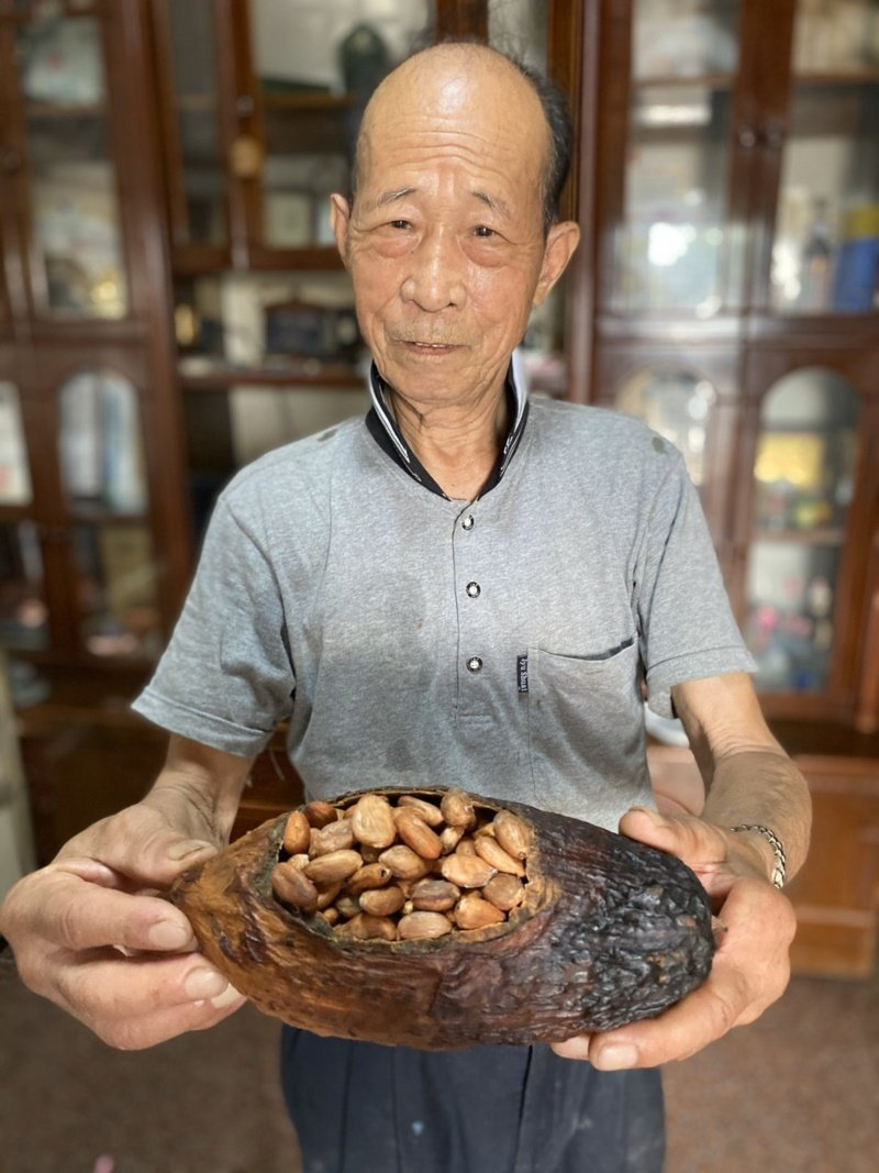 可可豆經過烘焙後,可製成巧克力。 圖/江良誠 攝影
