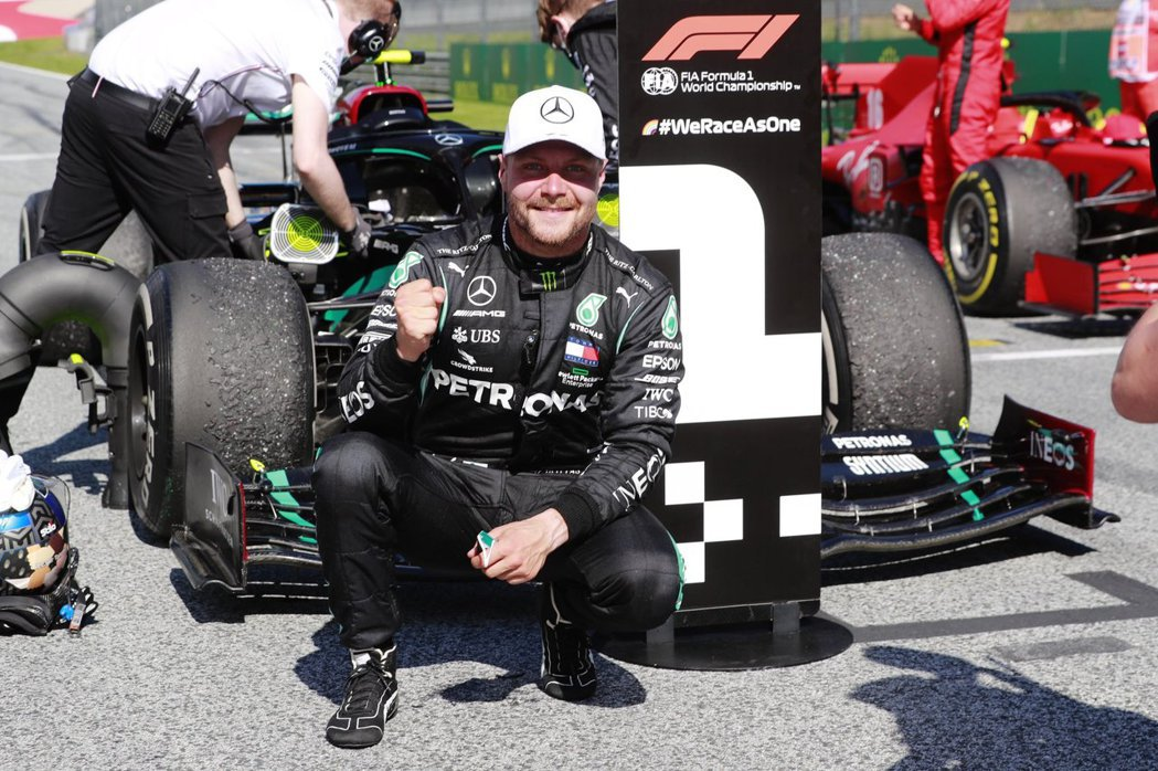 Bottas拿下2020賽季開幕賽首勝。 摘自Mercedes-AMG F1