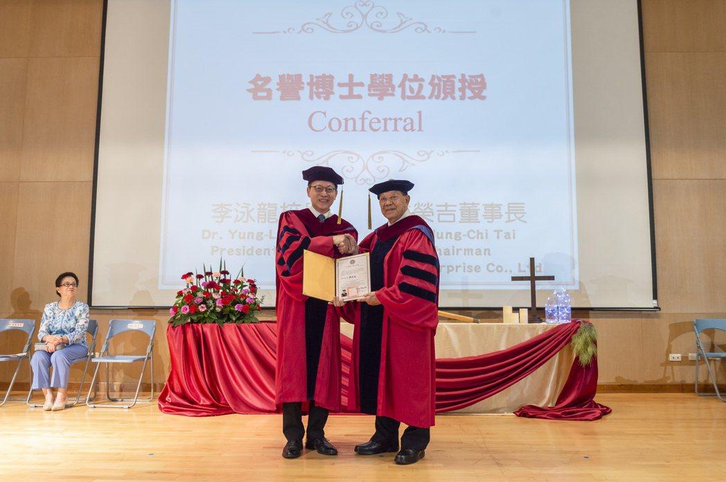 長榮大學/提供。