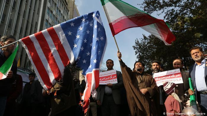 伊朗及美國在伊拉克的衝突一觸即發,也讓伊拉克政府十分頭大。(photo by Twitter)
