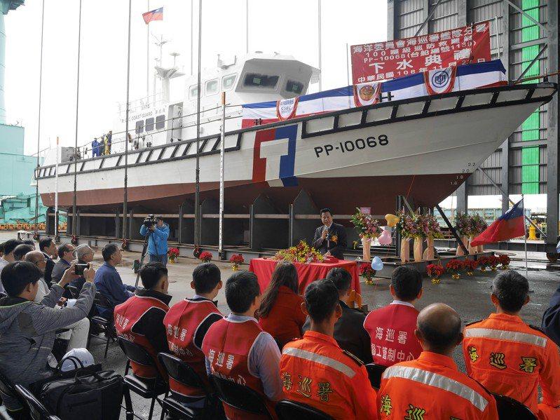 台船副總經理周志明說,基隆廠現在最重要的任務是一定要如期交船,甚至提早交船,就能提早拿到錢,對公司的資金運轉都是好事。 圖/聯合報系資料照片