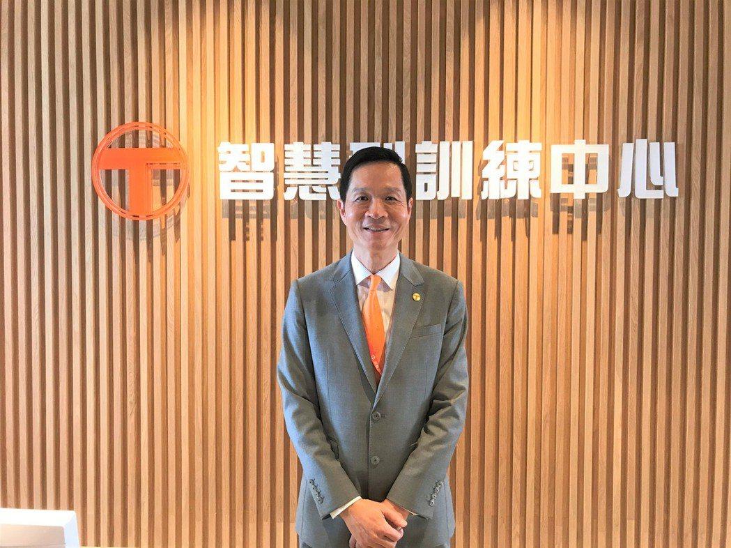 台灣房屋集團總裁彭培業。記者游智文/攝影