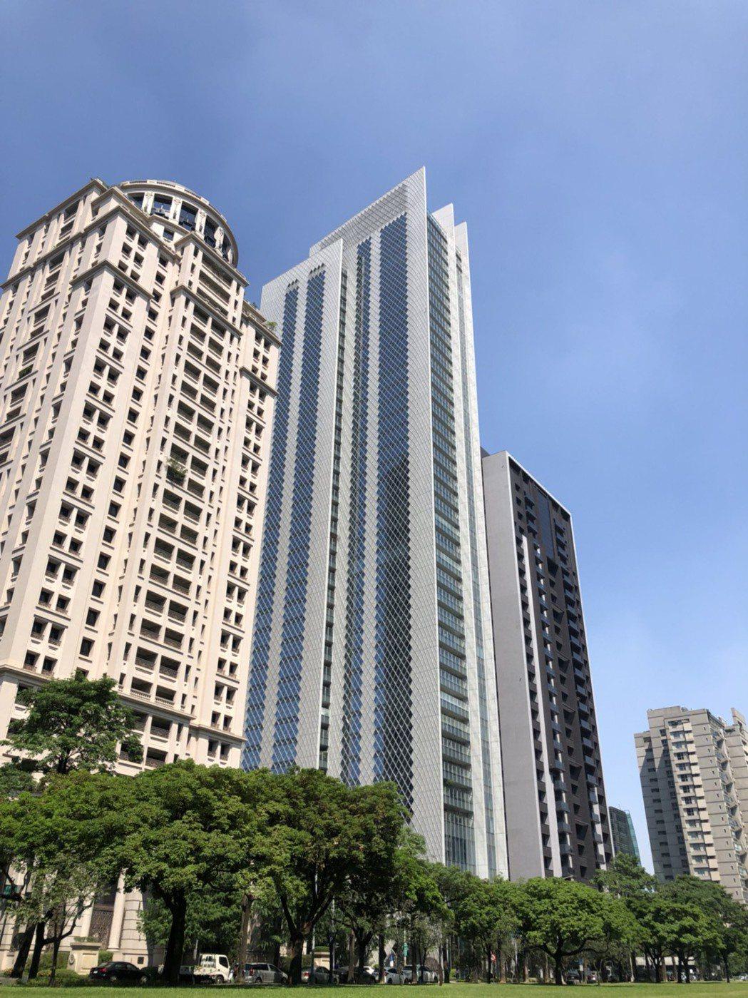 大陸宝格再傳交易,18樓戶以總價9,880萬成交。圖/業者提供