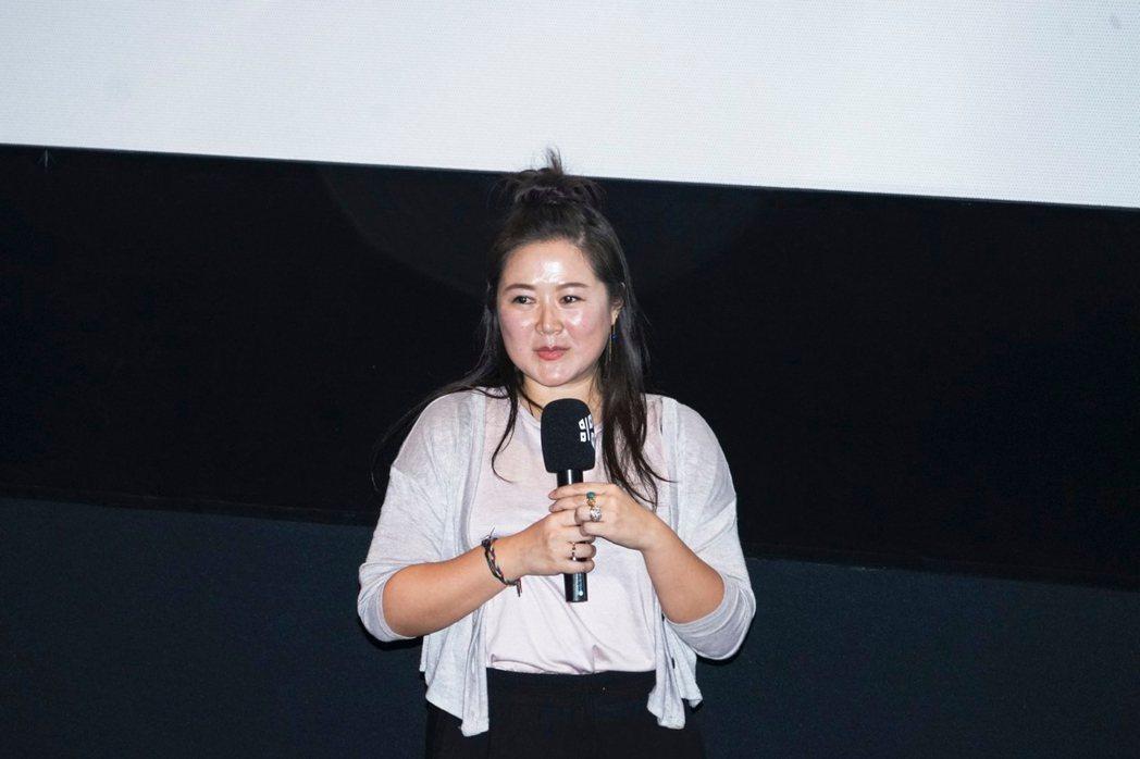 「不丹是教室」製片賴梵耘出席映後座談。圖/台北電影節提供