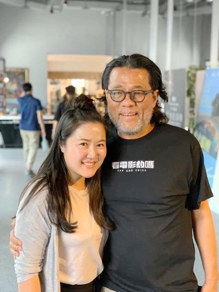 「不丹是教室」製片賴梵耘(左)出席映後座談。圖/台北電影節提供