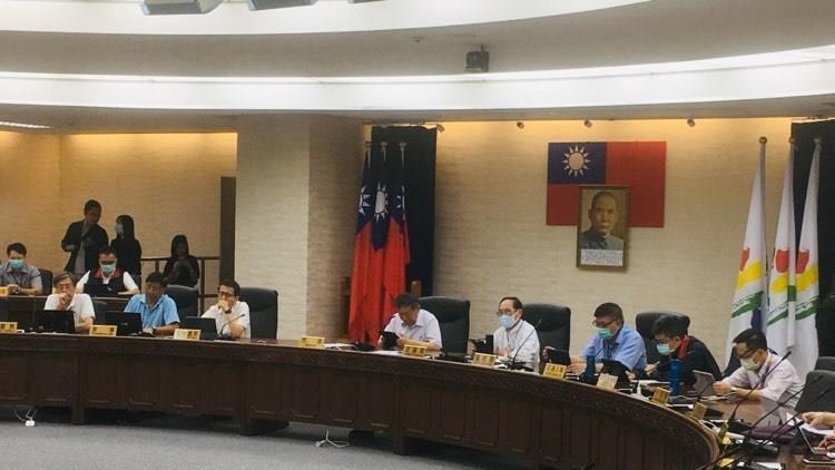 台北市長柯文哲今天主持交通會報。記者張世杰/攝影