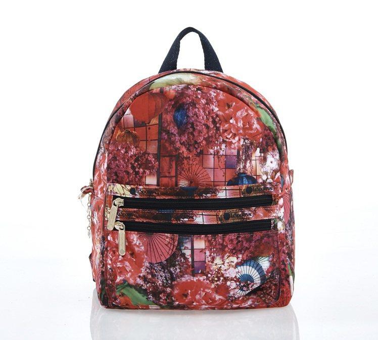 拉鍊口袋後背包,4,500元。圖/LeSportsac提供