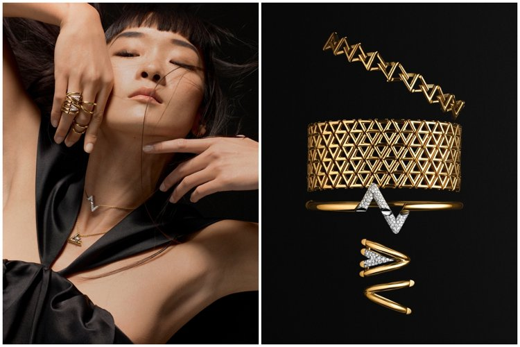 路易威登推出全新的LV VOLT系列珠寶。圖/路易威登提供