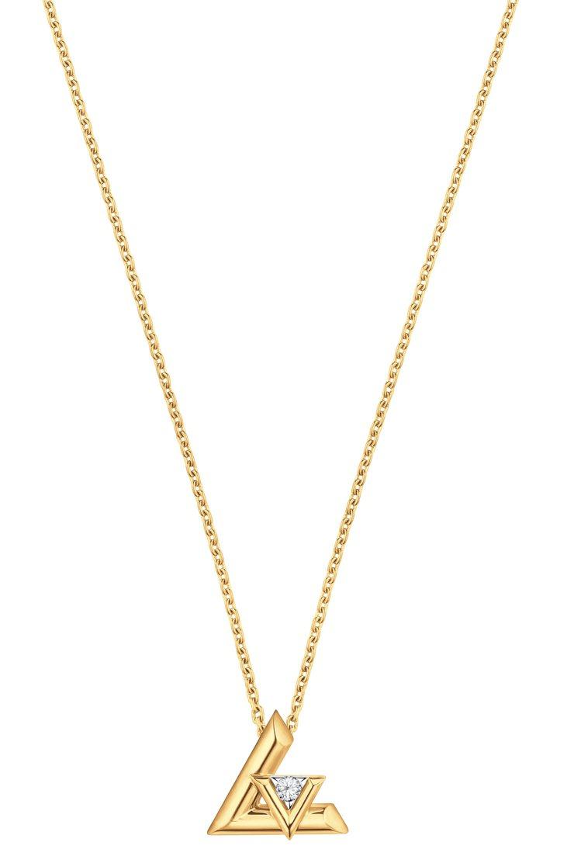 路易威登LV VOLT系列One 18K黃金鑲鑽,21萬6,000元。圖/路易威...