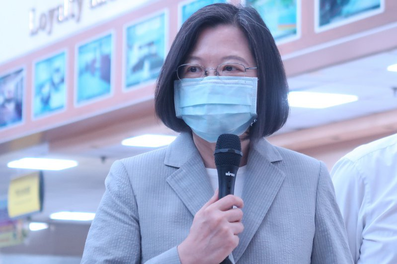 蔡英文總統。記者徐如宜/攝影