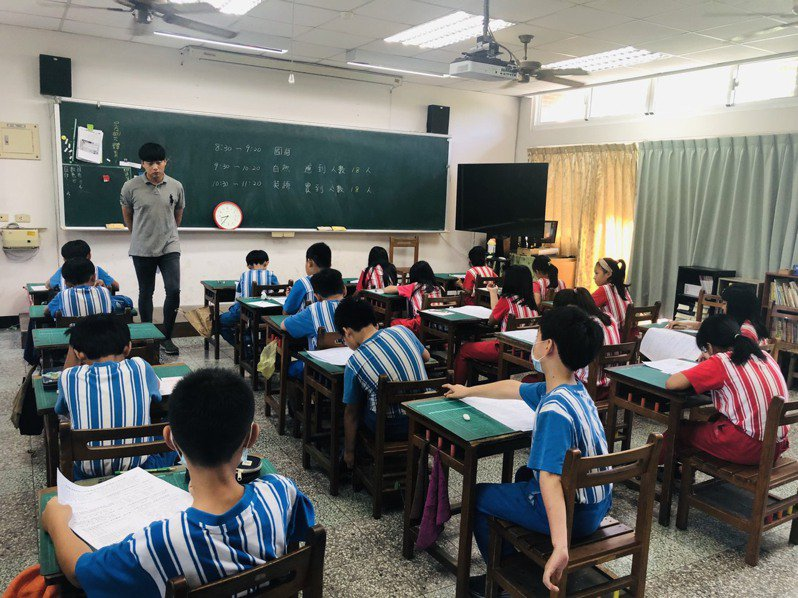 台東縣今年首辦「學生期末共同評量」今天起登場,全縣110所國中小學同步舉行。記者尤聰光/翻攝