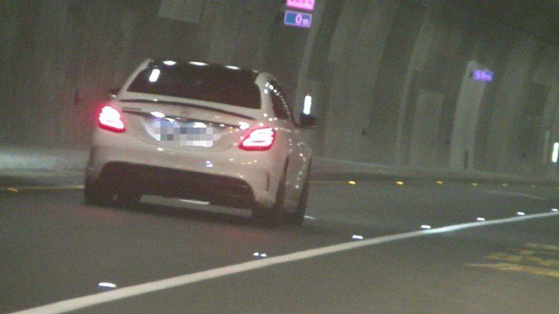 史上第一張龜速車罰單時速只有46,宜蘭警方針對蘇花改「路隊長」開罰。圖/警方提供
