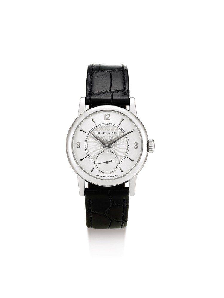 PHILIPPE DUFOUR Simplicity白金腕表,機芯編號167,2...