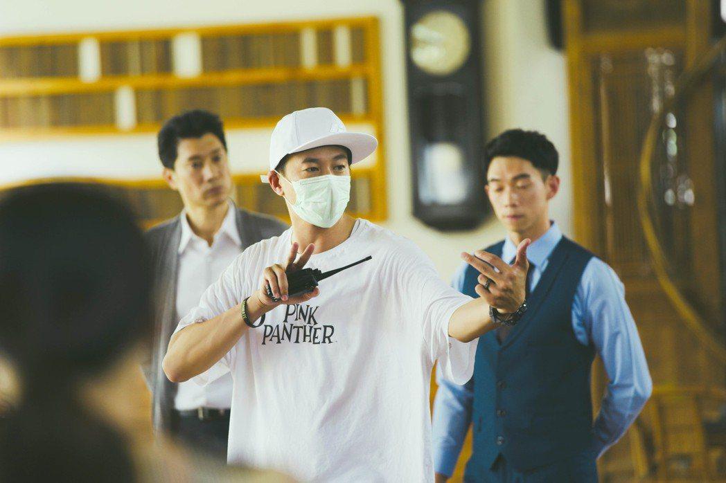何潤東大嘆在疫情期間拍攝作品相當不易。圖/頤東娛樂提供