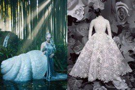 打開眾神的衣櫃 DIOR秋冬高級訂製服飄精靈仙氣