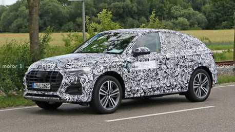 全新Audi Q5 Sportback密集測試中 預備搶攻跑旅市場