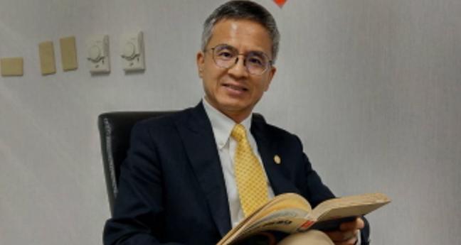 中華電信總經理郭水義。 記者黃晶琳/攝影