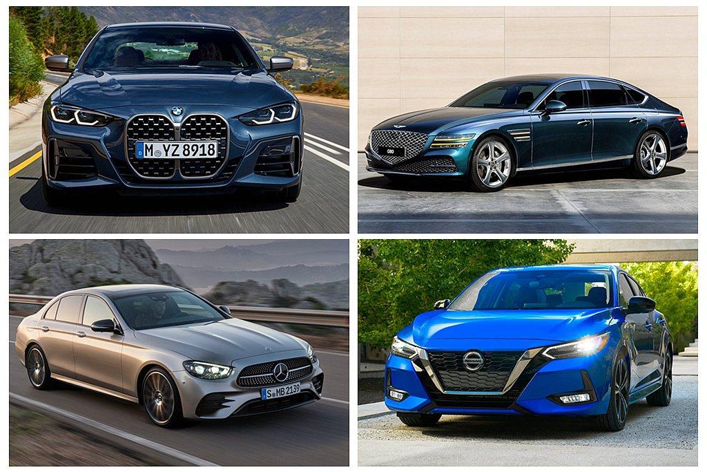 年度風雲車話題車款不少,包括全新BMW 4-Series、Genesis G80...