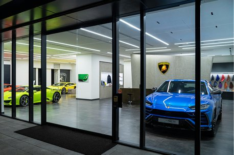 Lamborghini Taipei展示中心再進化!滿足2021年式Urus需求