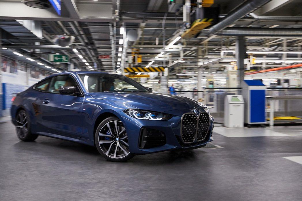 新世代BMW 4 Series確定將於今年十月正式上市。 摘自BMW