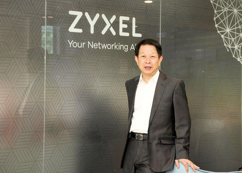 合勤集團董事長朱一順表示,企業資安與高層心態息息相關。