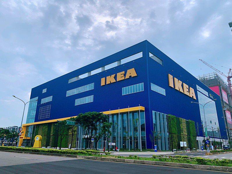 IKEA桃園店新址在中壢青埔高鐵特定區,預計23日早上開幕。圖/IKEA提供