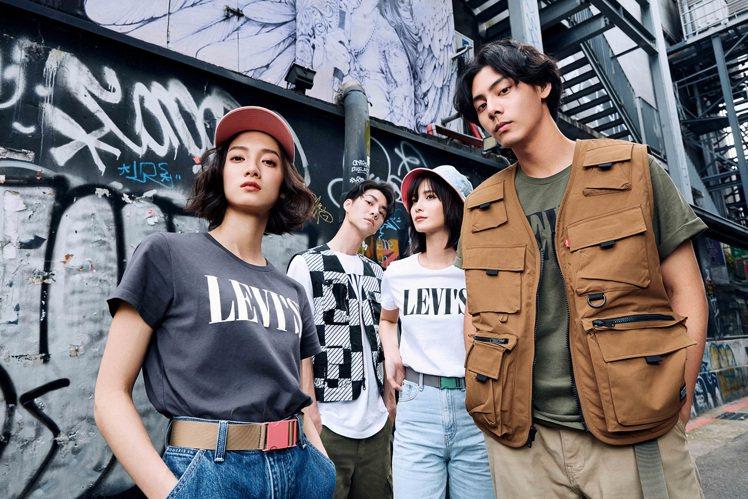 Levi's再度推出Serif Logo T恤,翻玩標誌重塑品牌經典,並且注入更...