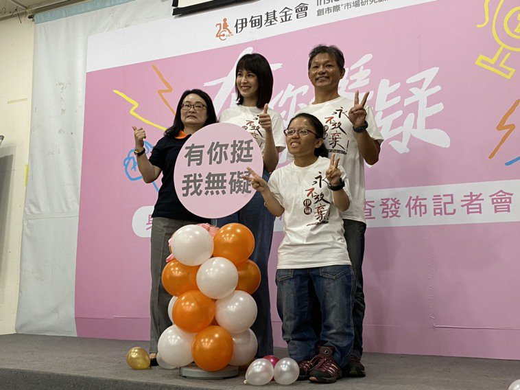 伊甸基金會今舉行「身障家庭支持者心聲調查」發布記者會,調查結果指出,近8成身障家...