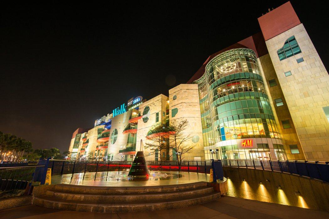 大江購物中心有完整的購物、餐飲、電影娛樂機能。圖/大江購物中心提供