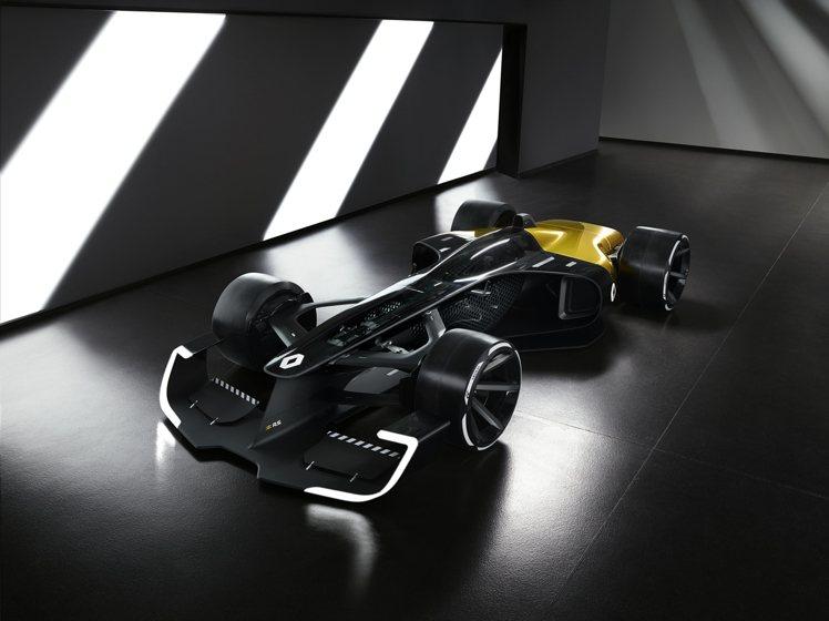 2020賽季的雷諾F1車隊賽車以黑色為主體並飾以耀眼黃色,同樣運用在聯名的Bel...