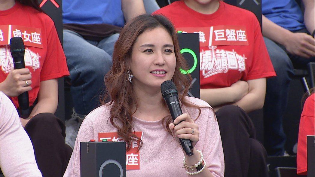 王婉霏自曝年輕時曾有富商追求。圖/中天提供