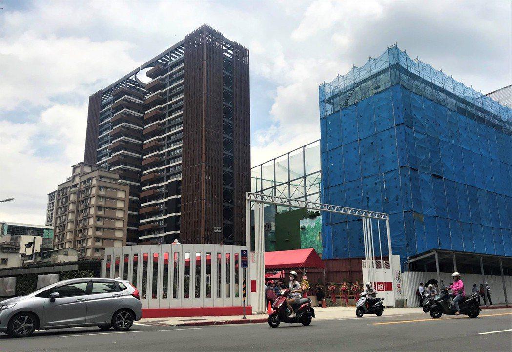 新店「寶強段都更案」今日開工。記者游智文/攝影