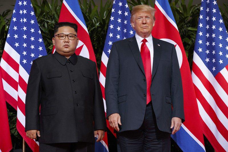 金正恩與川普2018年6月12日在新加坡的首會備受世人關注。美聯社
