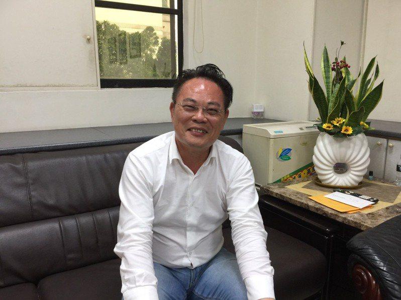 民進黨高雄市議員韓賜村。記者楊濡嘉/攝影