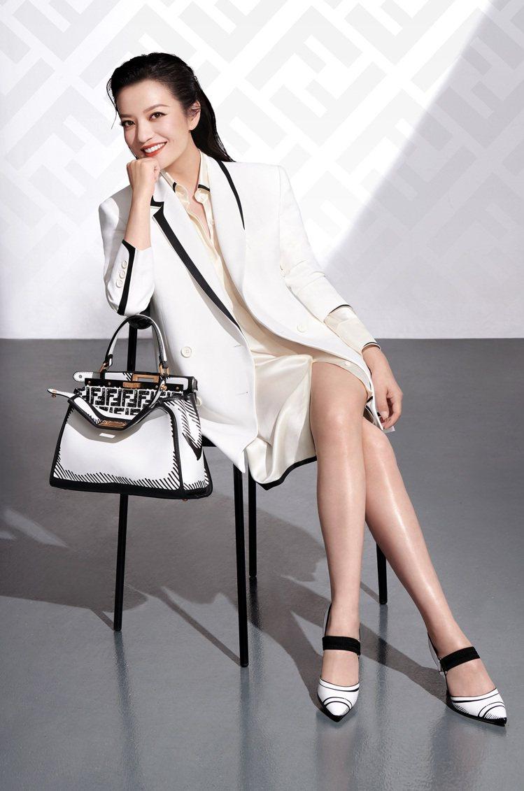 FENDI官方宣布趙薇為品牌大中華區代言人。圖/FENDI提供