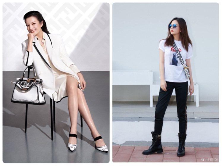 FENDI官方宣布趙薇為品牌大中華區代言人。圖/FENDI提供、取自微博