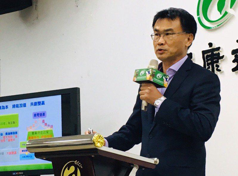 農委會主委陳吉仲。記者吳姿賢/攝影