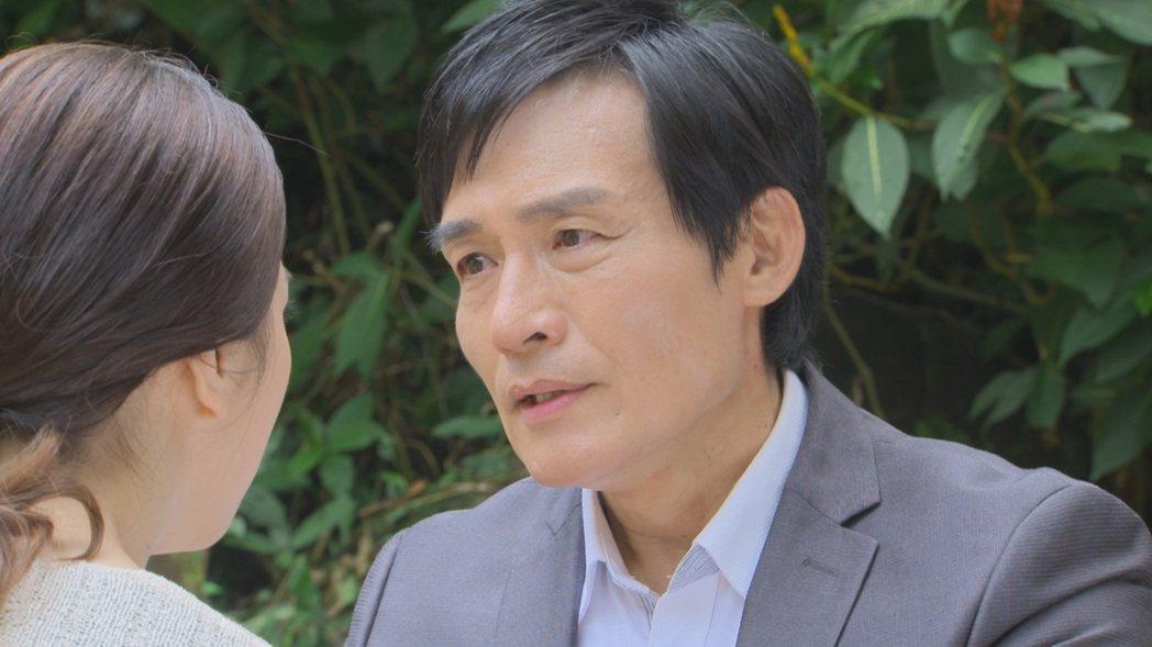 霍正奇在「多情城市」中飾演「老志龍」。圖/民視提供