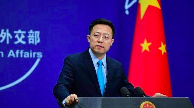 中共外交部發言人趙立堅。(香港文匯網)