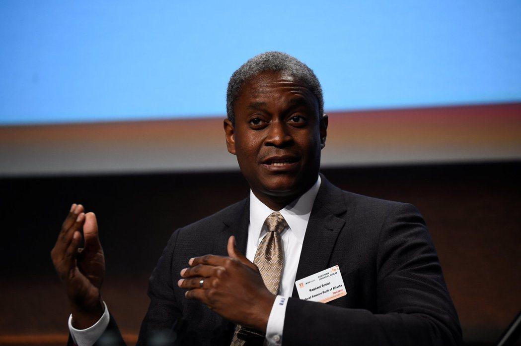 亞特蘭大區聯邦準備銀行總裁波斯提克(Raphael Bostic)。 路透