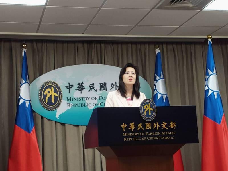 外交部發言人歐江安。聯合報系資料照片/記者徐偉真攝影