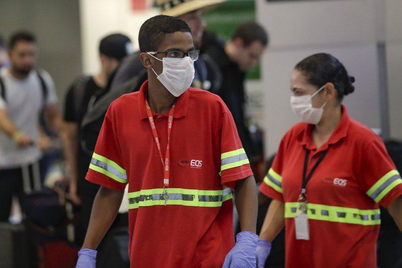 巴西死亡數僅次於美國,境內累計6萬6741人不治,累計確診166萬8589例。 圖/美聯社